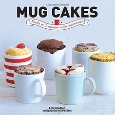 Mug Cakes: Ready in Five Minutes in the Microwave by Lene Knudsen http://www.amazon.co.uk/dp/1742708552/ref=cm_sw_r_pi_dp_Pl25vb1VGA3YB