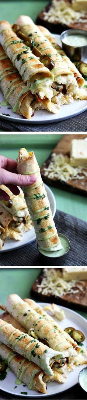 11. #poulet Taquitos - 29 #dîners de poulet délicieux à #agiter jusqu'à la Table de ce #soir... → Food