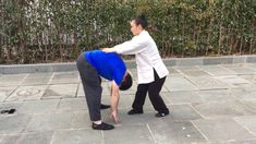 Chinese Taoist Massage on Wudang Mountain in China. After long hours of training Tai Chi, our Shifu teaches us how to relax our muscles with Taoist Chi massage.