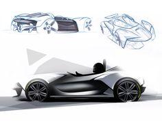 Zenos Cars E10 roadster - Design Sketches