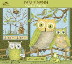 Owls & Friends calendar '15