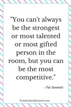Are you the most competitive person in the room?