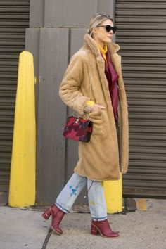 Catch Up on All of NYFW's Best Street Style From Last Season Day 8 Sofie Valkiers