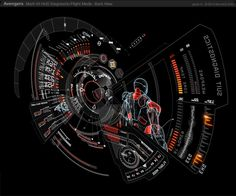 UI Design for the Avengers by Jayse |Awesome Design