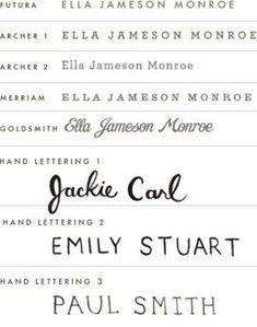 Rifle Paper Co. - fonts