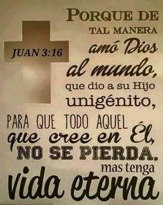 Juan 3:16  Amén!!!