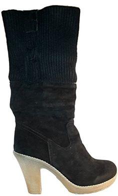 Elegante topmodische Stiletto High Heels Stiefel   Stiefeletten ungefüttert  in braun, Größe 36  Damenschuhe, Modell 1109410400357B, Schuh für Damen, ... ae4758270c