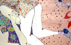 Kasia Saatchi Art, Socks, Drawings, Painting, Art Ideas, Contemporary, Artist, Painting Art, Sock