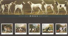 1991 ~ GB Royal Mail Presentation Pack 215 ~ George Stubbs paintings of Dogs Listing in the Decimal,Commemorative,Presentation Packs,Great Britain,Stamps Category on eBid United Kingdom Royal Mail Stamps, Royal Mail Postage, Dog Mints, Postage Rates, Dogs Trust, Protective Packaging, Dog Paintings, King Charles Spaniel, Unusual Gifts