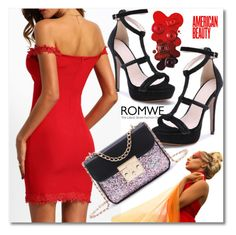 """Romwe 2/1"" by azra-v ❤ liked on Polyvore"