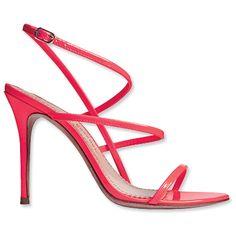 Jean-Michael Cazabat Patent Leather Sandals