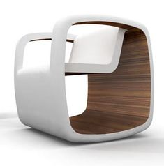 Modern Rocking Chair Cube by Jessica Nebel