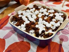 Get Sunny's Funky Monkey Waffle Pudding Recipe from Food Network