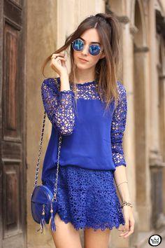 FashionCoolture - 20.05.2015 look du jour Decote Deluxe conjunto azul guipir (2)