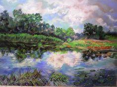 ARTFINDER: Landscape by OKSANA LESCENKO -