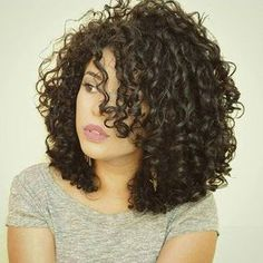 Afro Curly Bob Hairstyle Human Hair Lace Wigs For Black Women Afro Curly Bob Frisur Echthaar Lace Pe 3b Curly Hair, Curly Bob Hairstyles, Curly Hair Styles, Natural Hair Styles, Black Hairstyles, Curly Girl, Hairstyles 2016, Latest Hairstyles, Curly Hair Cuts Medium