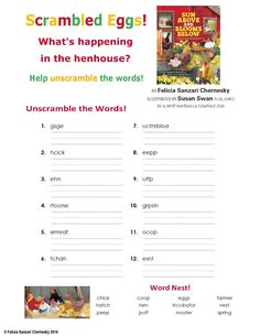One more opposites activity sheet to accompany a reading of Sun Above and Blooms Below!