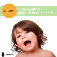 Proud parent of a just turned one-year-old? Your new toddler will be learning at a dizzying pace. See what your child will learn by 15 months. http://www.bundoo.com/articles/milestones-12-15-months-physical-development/