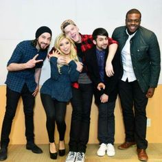 Avi Kaplan, Kirsten Maldonado, Scott Hoyan, Mitch Grassi, and Kevin Olusola-Pentatonix everyone!