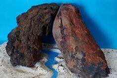 Stone Bridge Fish Tank DIY Archway Rock Lava Natural Aquascape Reef  #AZ21 #thirdplanettreasures