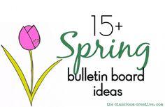 #spring #bulletin boards