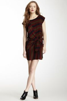 Corey Lynn Calter Striped Knot Dress by Non Specific on @HauteLook