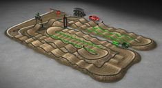 Dirt Bike Track, Rc Track, Motocross Tracks, Monster Energy Supercross