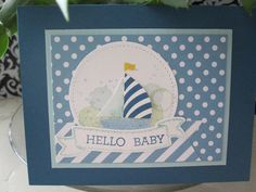 Swirly bird, Crazy about you, work of art, & Birthday banner stamp sets all from Stampin Up. Card made by Debbie Reed.