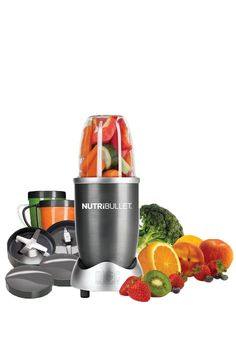 Magic Bullet NutriBullet High-Speed Blender/Mixer System From Nutri Bullet. - Bought another blender which we ended returning and then purchasing this one. I absolutely recommend the Nutri Bullet. So easy to use and the. Nutribullet 600, Nutribullet Recipes, Blender Recipes, Smoothie Recipes, Shake Recipes, Juice Recipes, Magic Bullet, Small Appliances, Kitchen Appliances
