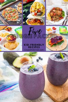 Healthy Family Meal Planning made easy ( These kid-friendly recipes share common ingredients making mealtime a breeze and cuts food waste. Get these simple healthy recipes on your meal plan today. Healthy Family Meals, Healthy Snacks For Kids, Nutritious Meals, Easy Healthy Recipes, Family Recipes, Healthy Food, Smoothie Packs, Avocado Smoothie, Easy Smoothies