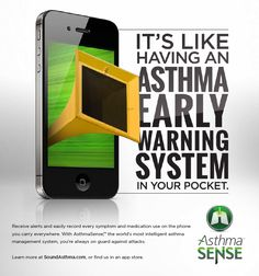 AsthmaSense – It's like having an asthma early warning system in your pocket.