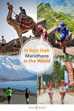 Time to take your running hobby global. These destination half-marathons are a vacation and fitness feat, all in one.  via @dailyburn