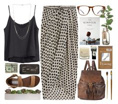 """""""Gratitude and Self Forgiveness"""" by soil-and-sky ❤ liked on Polyvore featuring Thakoon, Forever 21, H&M, Steve Madden, Theory, Le Labo and Aesop"""