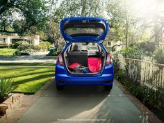 10 Best Back-to-School Cars for 2014 Includes Honda Fit and Civic School Car, Back To School, Honda Fit Lx, Honda Cars, New Honda, Rear Seat, Tailgating, Surfing, Adventure