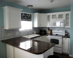 The Starter Home: I Painted My Counters! Yep, That's Right...