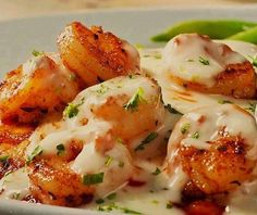 the best recipes of all time: Cajun Shrimp with Creamy Lemon Butter Sauce