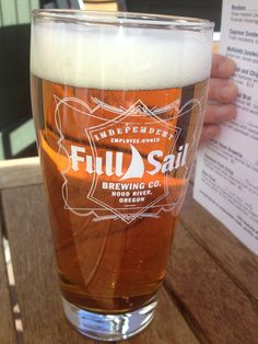 NEW #Belma Brew on tap at #FullSailBrewing! Stop in and hoist a pint of Belma in honor of #TGIF #CHEERS! #HopsDirect #PuterbaughFarms