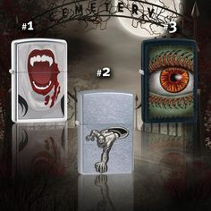 Any of these eerie Zippo lighters make your skin crawl?