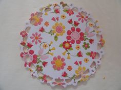 Handmade Paper Doilies Set of 12. $5.50, via Etsy.