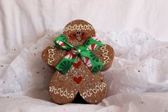 Gingerbread Fat Boy decor PERFECT for the by Countrygiggles, $5.00