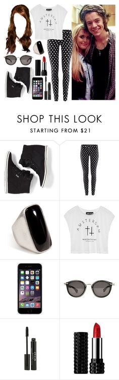 """""""Backstage with Lottie and Harry"""" by laisgrego ❤ liked on Polyvore featuring Keds, Emilio Pucci, Moncler, Stila, Kat Von D, harrystyles and Funnynight"""