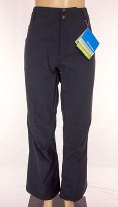 COLUMBIA New Titanium Softshell Jean Size L Large Black Omni Ski Snowboard $179 #Columbia #SoftshellJeans