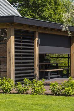 Backyard Sheds, Backyard Patio Designs, Small Backyard Landscaping, Backyard Seating, Outdoor Pergola, Outdoor Rooms, Terrazas Chill Out, Hot Tub Gazebo, Outdoor Shelters