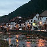 Precioso pueblo en el Pirineo Navarro