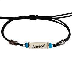 Bracelet indien personnalisé avec prénom. Cadeau homme et Bijoux  Personnalisés, Indien fe3084f53d56