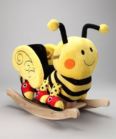 Christmas Present for Stephen. . Buzzy Bee Rocker by Rockabye on @zulily today!