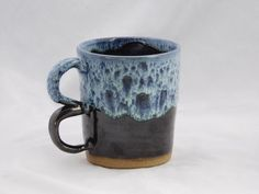 Handmade Double Knuckle Mug by GrayClayPottery on Etsy