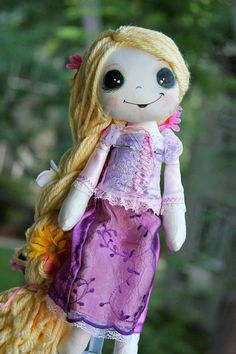 Disney Tangled Rapunzel Inspired Cloth by SpookyPookyCreations, $50.00