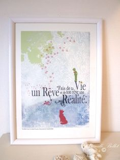 The Little Prince Art Print 8.5x11 - Dreams - home decor  $19.50