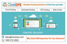 CloudOYE is leading cloud CDN (Content Delivery Network) hosting service provider. Our online Cloud CDN server enhances your website performance across the globe and helps you to improve you revenue. Content Delivery Network, Improve Yourself, Clouds, India, Business, Delhi India, Cloud, Indian